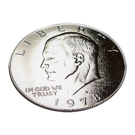 You Want it We Got it Ike Palming Coin -Dollar Sized - Coin (M10)