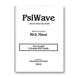Murphy's Magic Book - PsiWave by Rick Maue (M7)