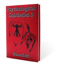 Murphy's Magic Psychological Subtleties 3 (PS3) by Banachek (M7)