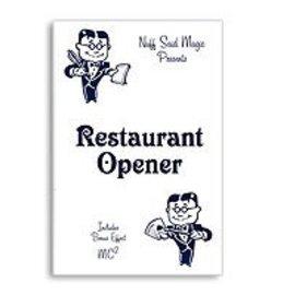 Nuff Said Magic Card - Restaurant Opener, Blue (M10)