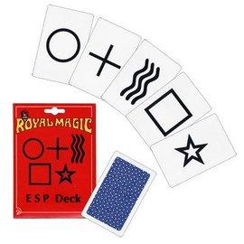 Royal Magic ESP Deck (Marked) - 25 Cards by Royal Magic (M10)
