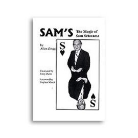 Magico Book - SAM'S: The Magic of Sam Schwartz by Allen Zingg (M7)