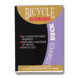 Murphy's Magic Stripper Deck Bicycle - Red (m12)