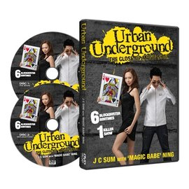 Urban Underground (2 DVD set) by J.C Sum with 'Magic Babe' Ning