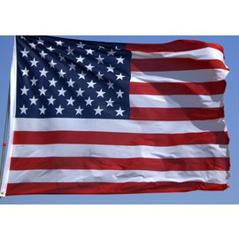 Nabco Banner American Flag 3' x  5' - Polyester