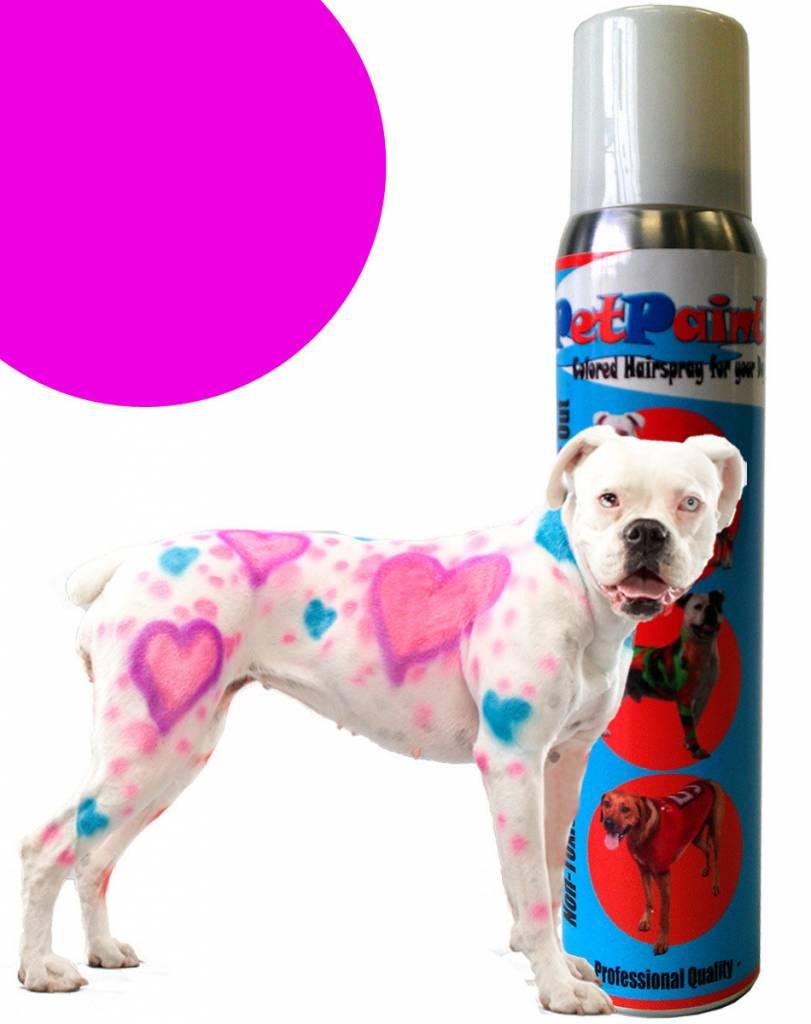 Pet Paint Colored Hair Spray Pug Purple