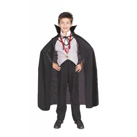 RG Costumes And Accessories Black Nylon Cape 36 inch - Child