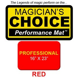 Ronjo Performance Mat Professional Flame Red