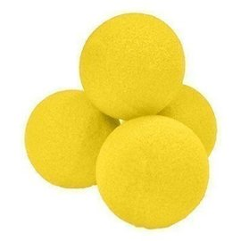 Magic By Gosh 1 inch Sponge Balls, Regular - Yellow (M12)