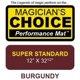 Super Standard Close-Up Mat Burgundy perfromance