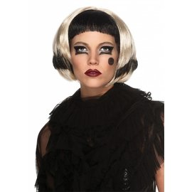 Rubies Costume Company Lady Gaga - Black and Blonde Wig