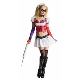 Rubies Costume Company Harley Quinn - Arkham Adult Large