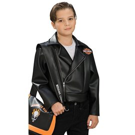 Rubies Costume Company Harley Davidson Jacket - Child Large 12-14