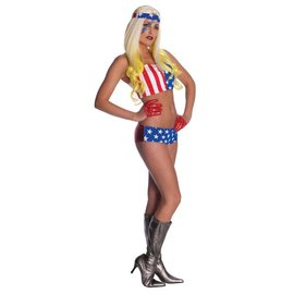 Rubies Costume Company Lady Gaga - American Flag Outfit Standard