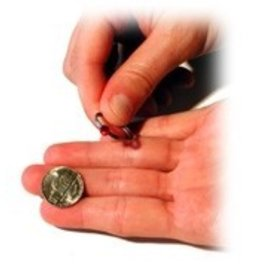 Sasco Magic Crackerjack Love by Ronald J. Dayton - Coin  (M10)