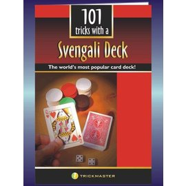 Trickmaster Magic 101 Tricks w/a Svengali Deck - Booklet