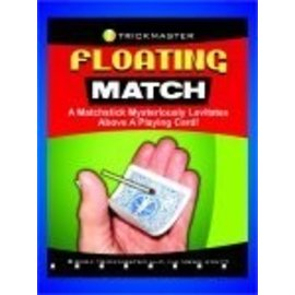 Trickmaster Magic Floating Match on Card - Energized Card (M12)