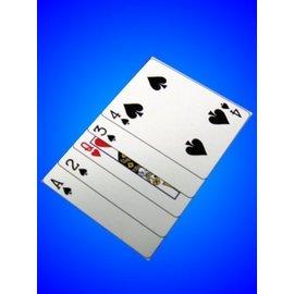 Trickmaster Magic Clipped Card (M12)