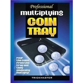 Trickmaster Magic Multiplying Coin Tray - Professional - Coin (M10)