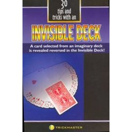 Trickmaster Magic 30 Tips and Tricks w/an Invisible Deck