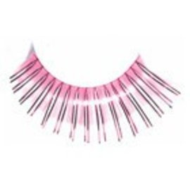 Red Cherry Eyelashes Pink Mylar C208