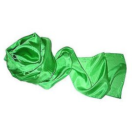 Vincenzo Di Fatta Silk Streamer 9 inches x 33 feet - Green (M11)