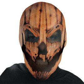 Disguise Pumpkin Maniac Full Nylon Mask