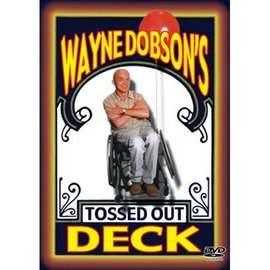 Magic City Tossed Out Deck by Wayne Dobson, Bicycle w/DVD (M10)