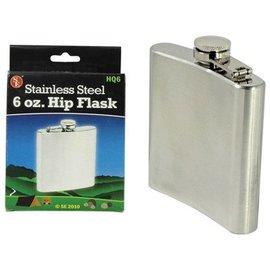 Sona Enterprises Stainless Steel 6 oz. Hip Flask