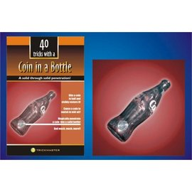 Trickmaster Magic 40 Tricks w/ Coin in a Bottle by Trickmaster  (M12)