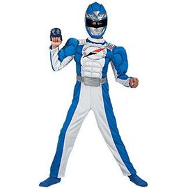 Disguise Power Ranger BLU Ovrdrv 10-12