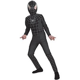 Disguise Black-Suited SpiderMan - Child 10-12