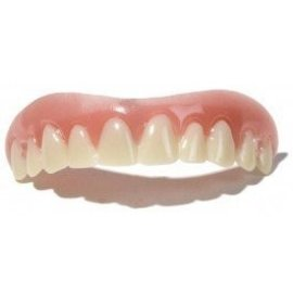Billy Bob Products Billy Bob Teeth - Instant Smile Upper Veneer, Medium (C2)