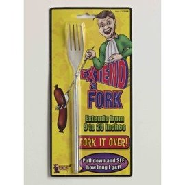 Forum Novelties Extend A Fork - Telescopic Fork