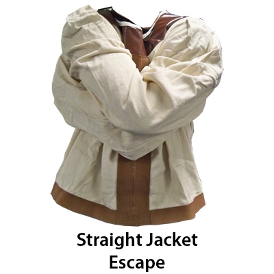 Straight Jacket Escape by Ronjo - Ronjo Magic, Costumes and Party Shop