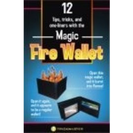 Trickmaster Magic Magic Fire Wallet by Trickmaster (M10)