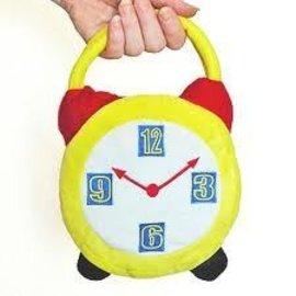 Leg Avenue Crazy Hour Alarm Clock Costume Handbag