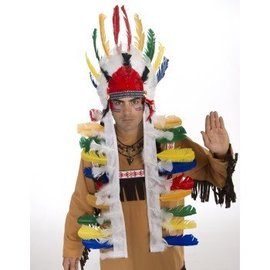 Forum Novelties Native American Headdress Deluxe, Long