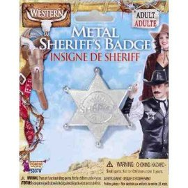 Forum Novelties Metal Sheriff Badge metal