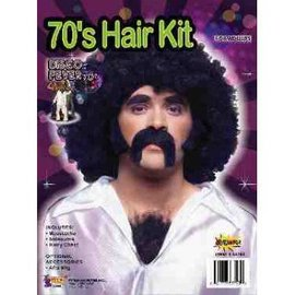 Forum Novelties 70's Disco Man - Hair Kit
