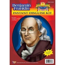 Forum Novelties Heroes In History - Benjamin Franklin Historical Kit