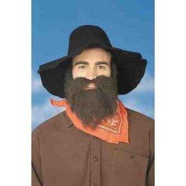 Forum Novelties Beard And Moustache 49er Brown