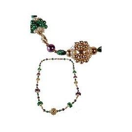 Forum Novelties Mardi Gras Beads with Beaded Balls