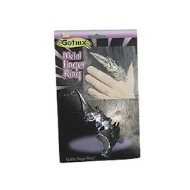 Forum Novelties Metal Finger Ring