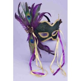 Forum Novelties Green Masquerade Mask