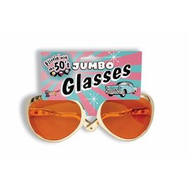 Forum Novelties Jumbo Rock N Roll Glasses (C3)