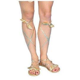 Forum Novelties Gold Sandals - Ladies (C15)