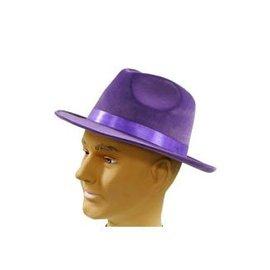 Franco American Pimp Hat - Purple