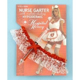 Forum Novelties Nurse Garter with Hypodermic Needle (C11)