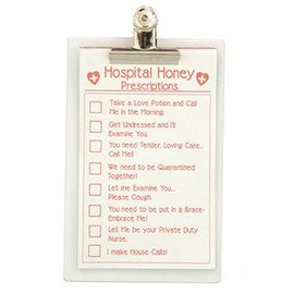 Forum Novelties Hospital Honey Clip Board and Sexy Prescription Pad (C11)